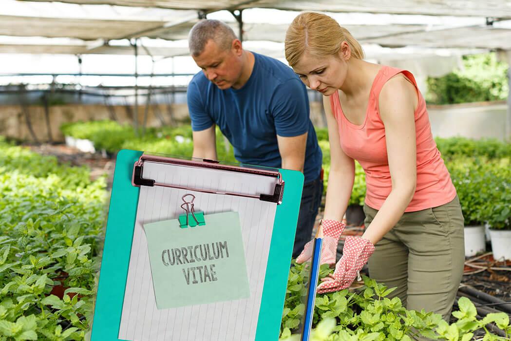 Curriculum para agricultura